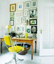 El amarillo agudiza el ingenio, perfecto para trabajar.