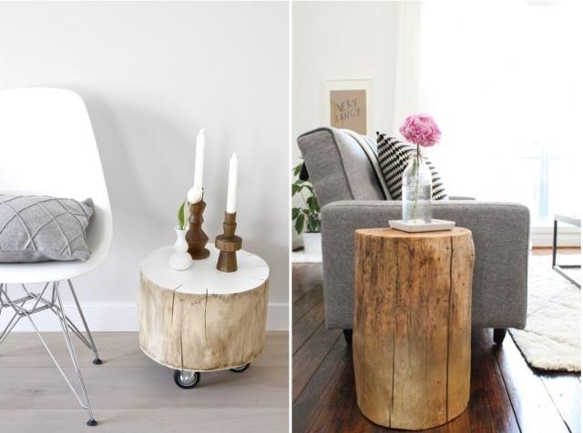 Mi tronco lufe decofeelings - Tronco madera decoracion ...