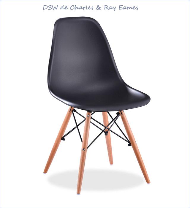 Silla DSW de Charles & Ray Eames en SuperStudio.com