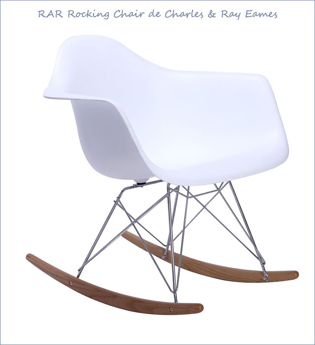 Silla RAR Rocking Chair de Charles & Ray Eames en SuperStudio.com