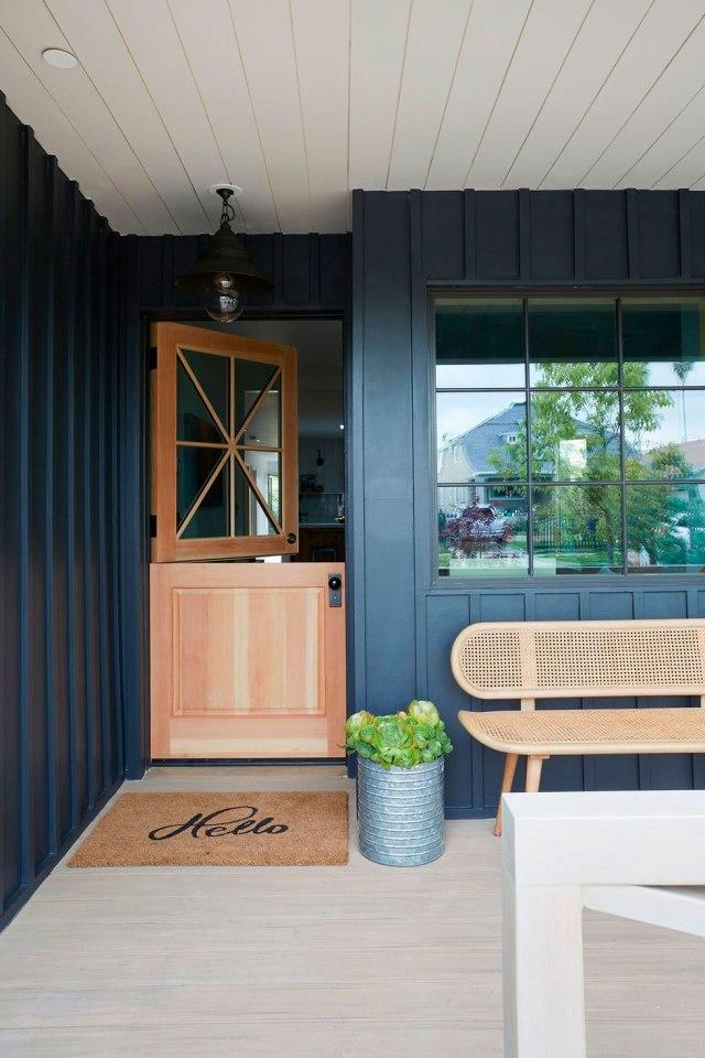 Casa de campo de estilo Craftsman